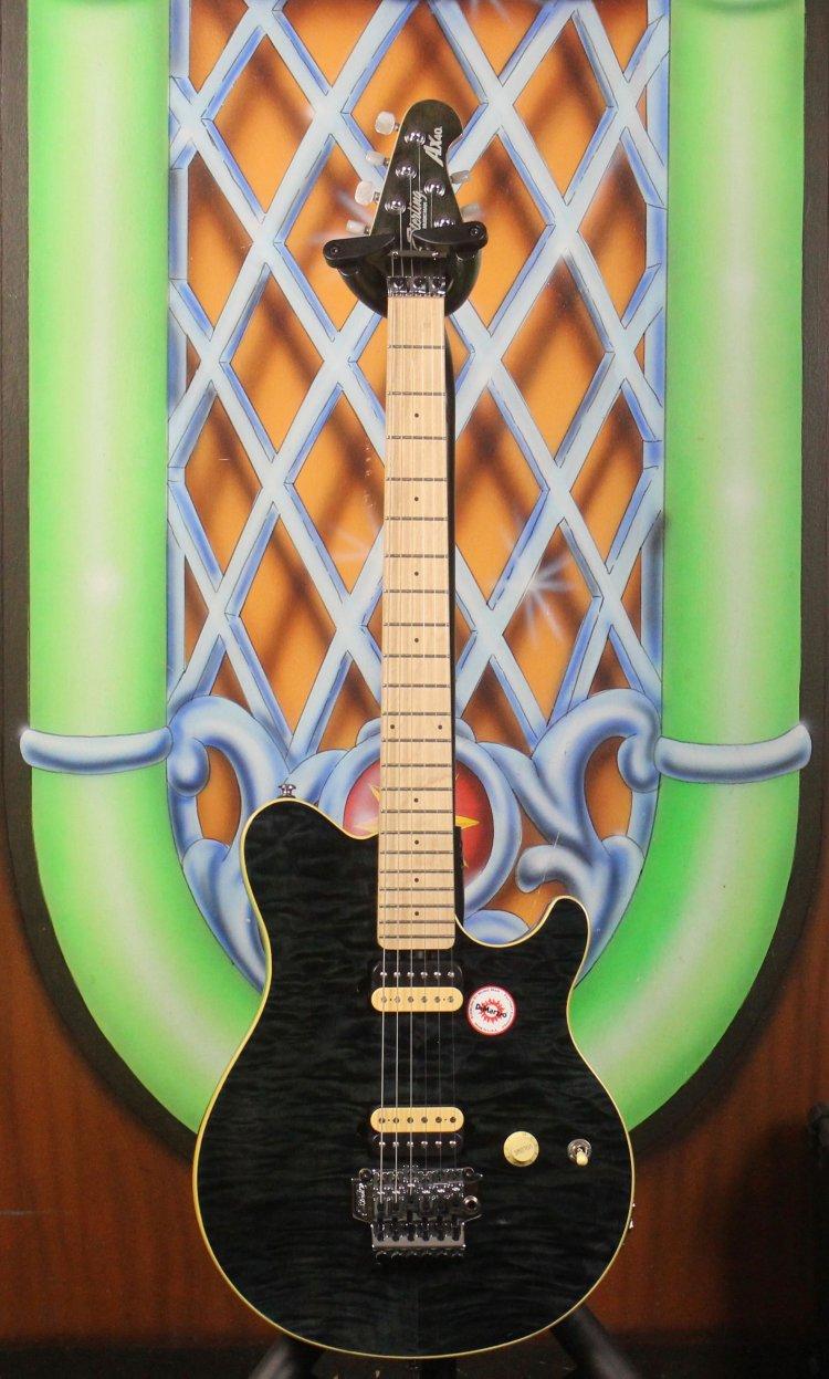 Sterling Musicman AX40D-TBK Transparant Black