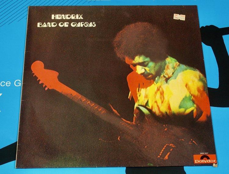 Jimi Hendrix.  Band off Gypsys  1970