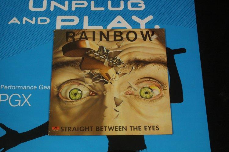 Rainbow Straight between the eyes