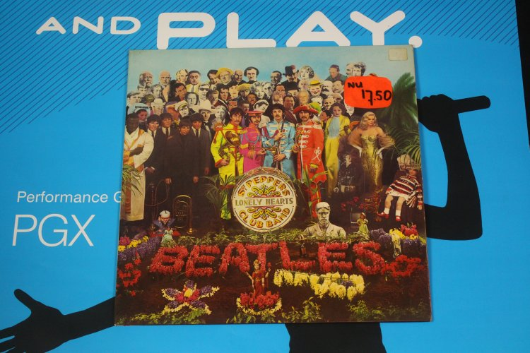 The Beatles   Sgt. Pepper's Lonely Hearts Club Band 1967 Netherlands PCS 7027 LP