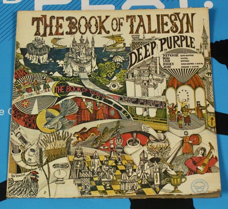 Deep Purple Book off a Taliesyn