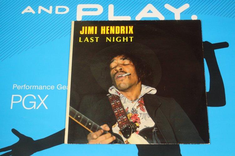 Jimi Hendrix Last Night 201016