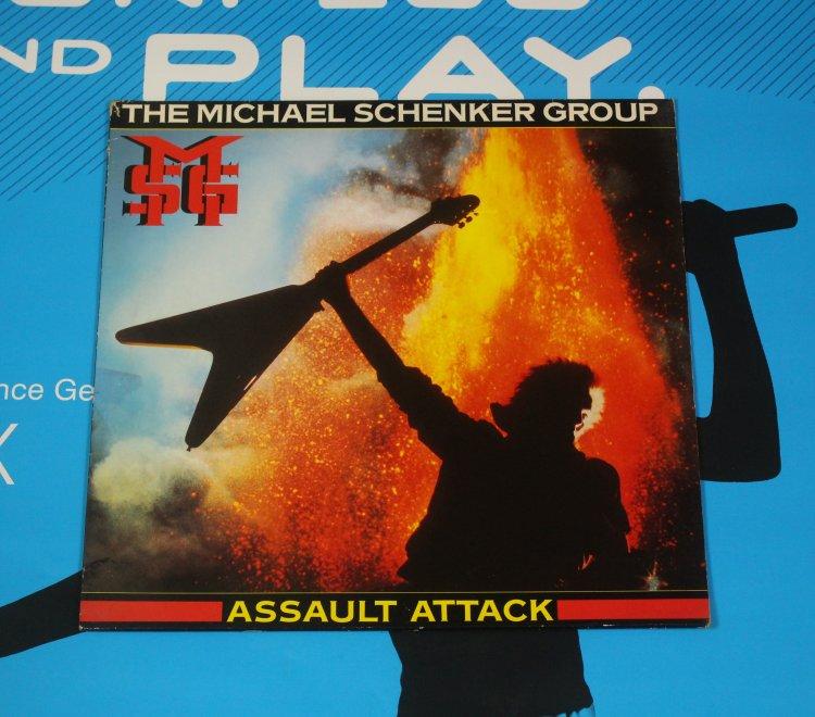 The Michael Schenker Group Assault Attack 205 094 - 320