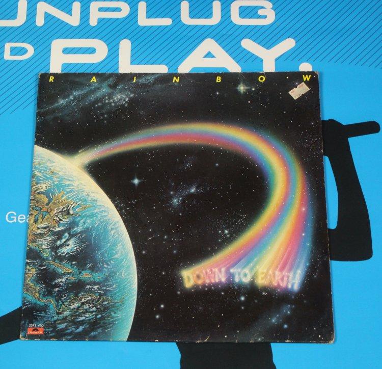 Rainbow LP Vinyl down to Earth/Polydor 2391 410