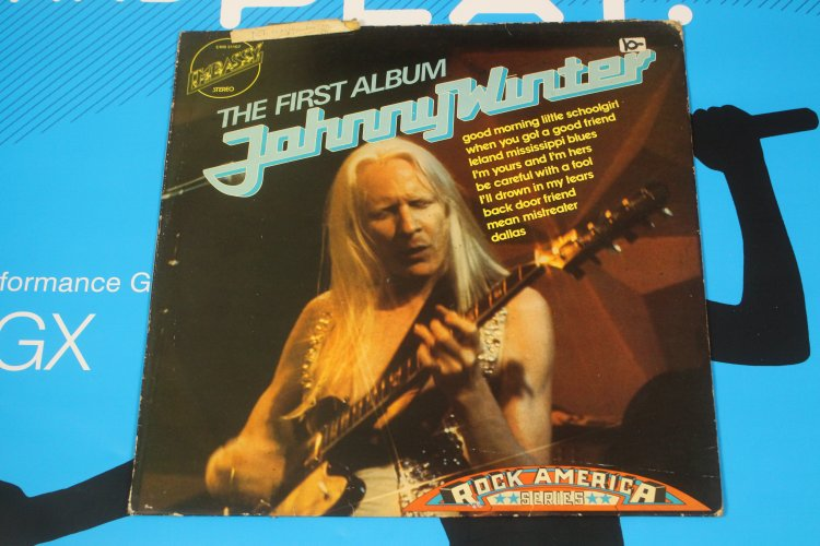 Johnny Winter The First Album  EMB 31107