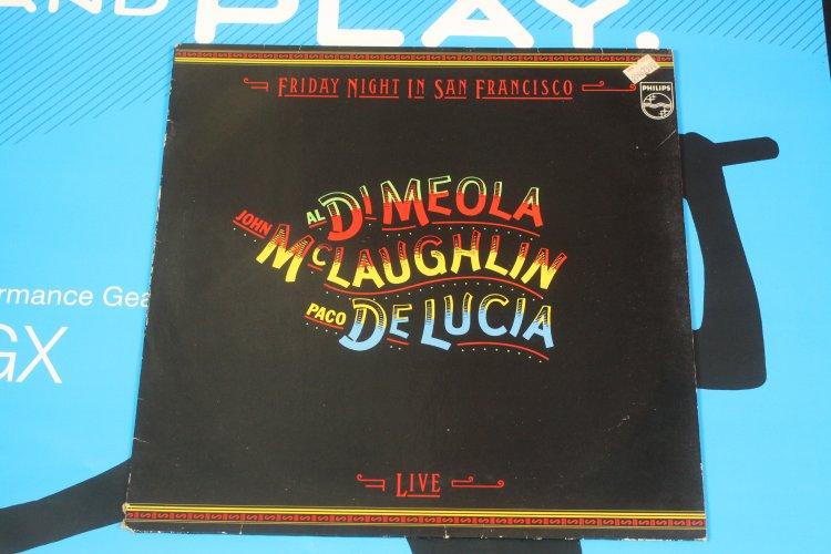 John McLaughlin, Al di Meola, Paco de Lucia,  Friday night in San Francisco 6032 137