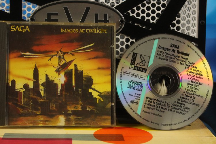 Saga - Images At Twilight 258158 Made in Germany 1987