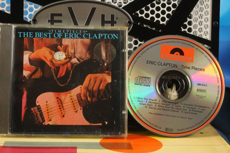 Eric Clapton - Time Pieces 800 014-2 Made in the Netherlands 1982