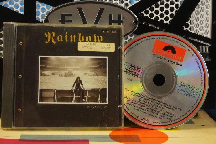 Rainbow  -  Finyl Vinyl   827098702  Made in West-Germany 1986