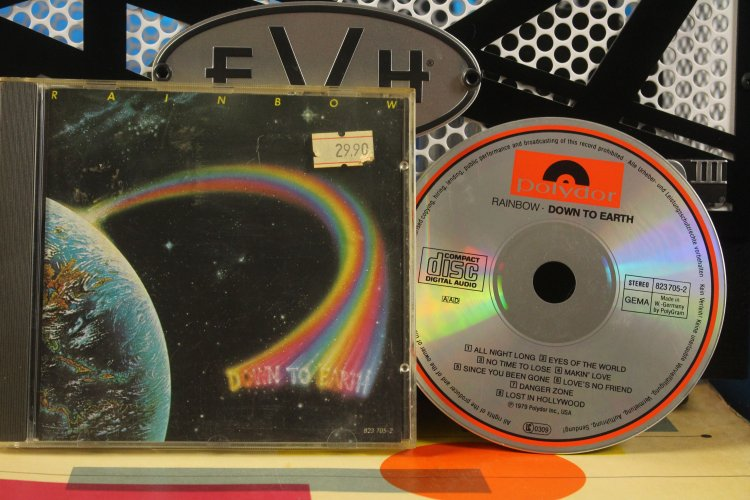 Rainbow  -  Down to Earth  8237052   Made in USA 1979
