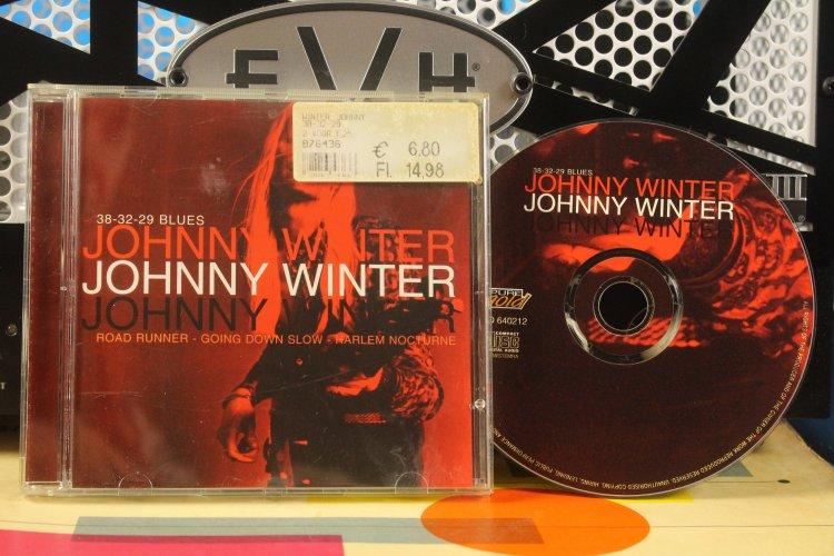 Johnny Winter -     38-32-29 Blues  GO640212 Made in EU 2001