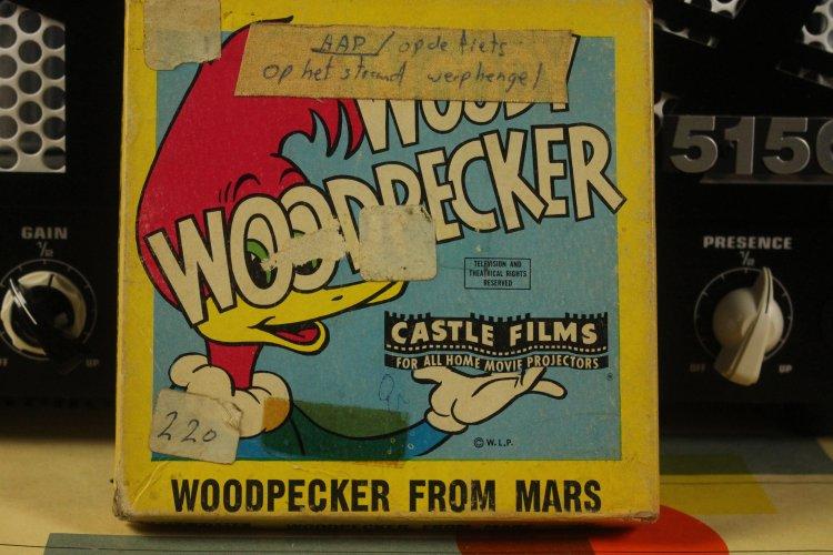Woody Woodpecker From Mars 8 mm