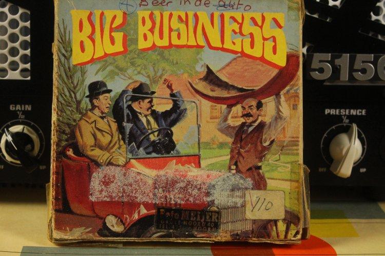 Big Business  laurel en Hardy 8 mm