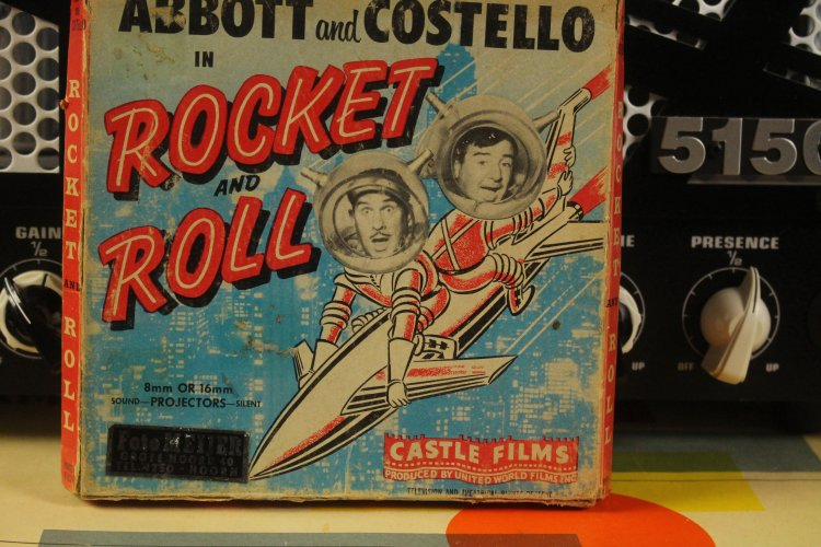 Abbott And Costello in Rocket Roll 8 mm
