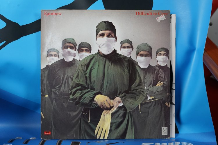 Rainbow Difficult to cure 2391506 Polydor made in Holland
