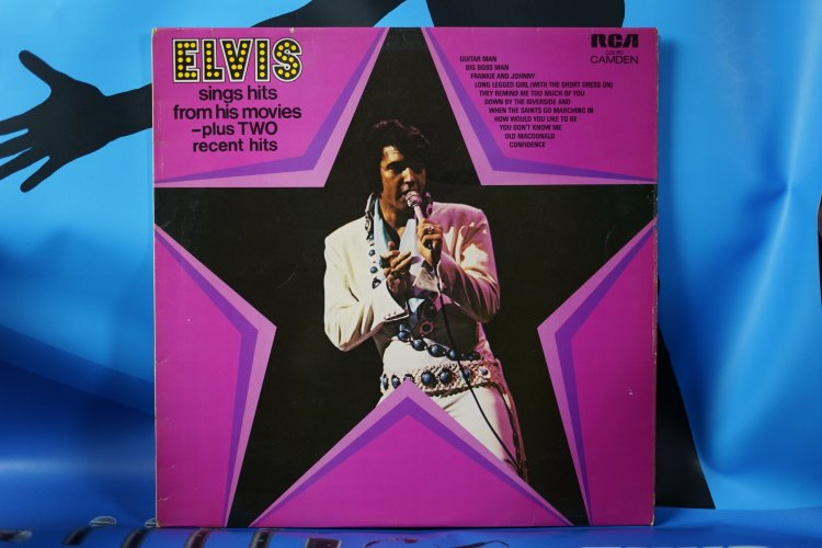 Elvis Presley  Hits from his Movies CDS 110  Camden 1972