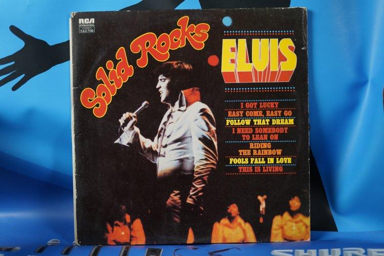 Elvis Presley  Solid Rocks FJL. 27120 International Camden 1975