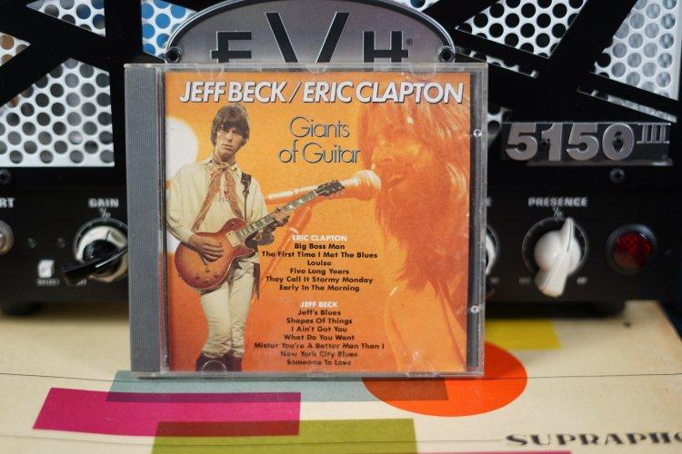 Jeff Beck/ Eric Clapton   Giants of Guitar  Citadel 8875  EEC