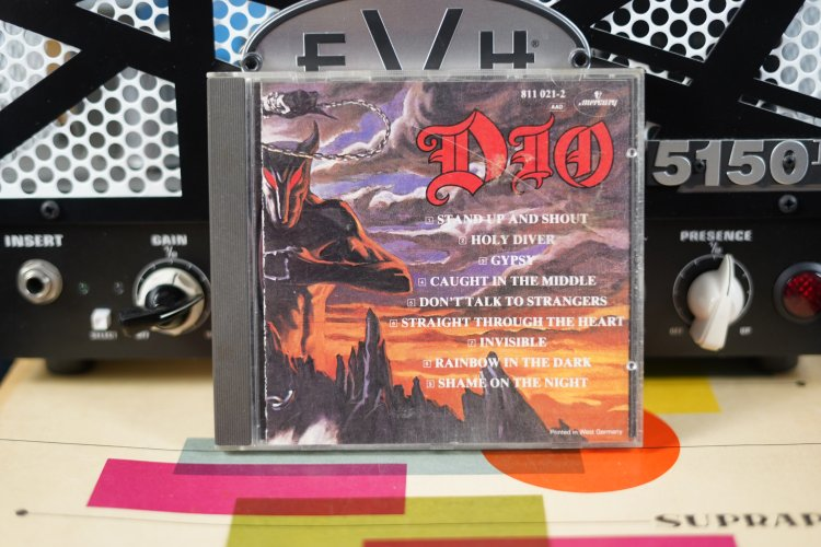 DIO - Holy Diver      8110212   Made in The Netherlands CD  1983