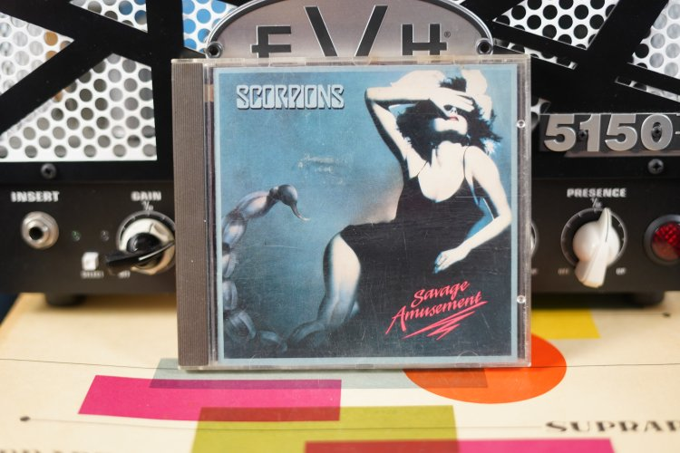 Scorpions  Savage Amusement   7467042  1988 West  Germany