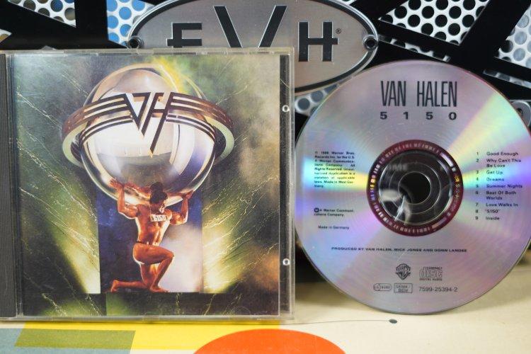 Van Halen - 5150     7599-25394-2    Made in  Germany 1986
