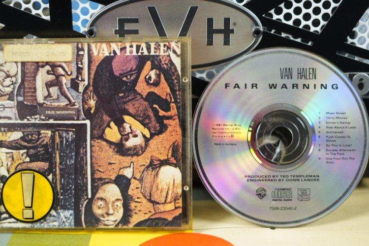 Van Halen - Fair Warning  7599-23540-2 Made in Germany 1981
