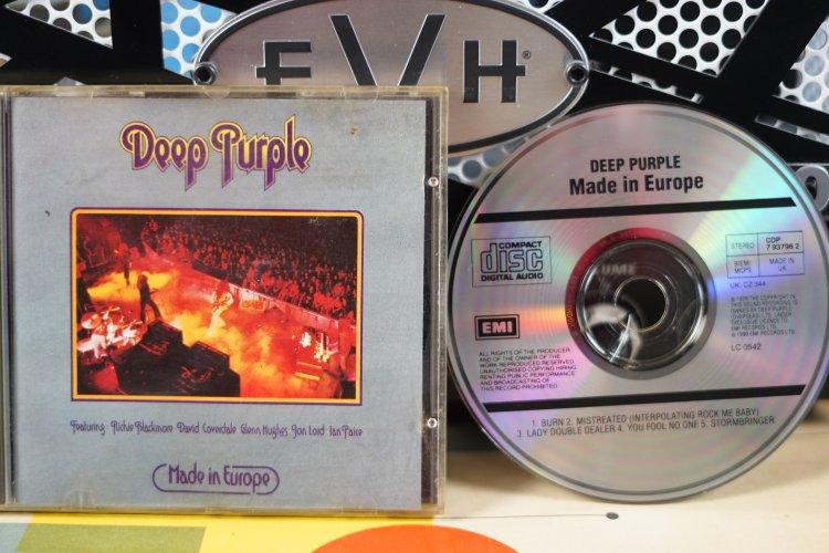 Deep Purple -  Made in Europe CDP 7 93796 2 Printed in England 1990