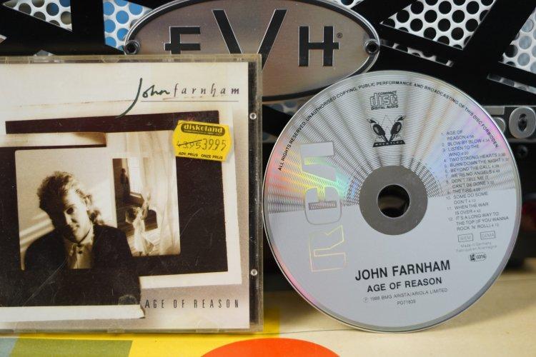 John Farnham - Age of Reason PD7 1839 Made in Germany 1988
