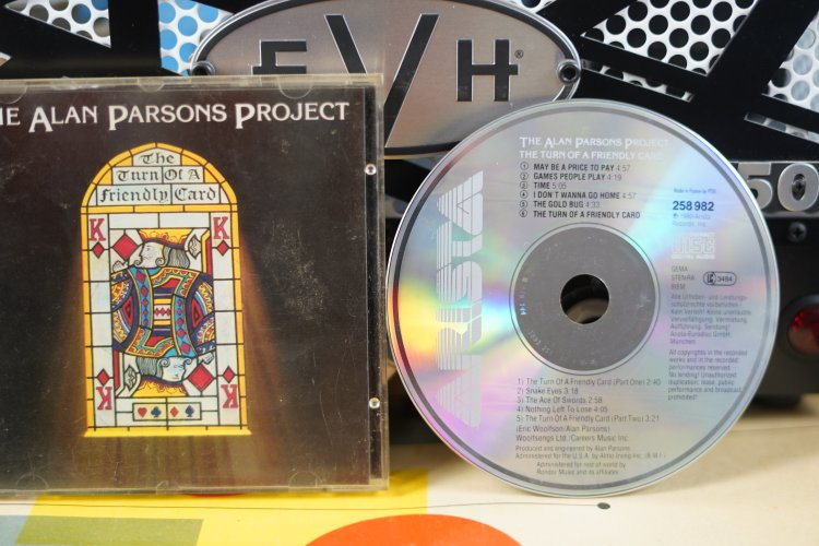 The Alan Parsons Project  - Turn of a Friendly Card 258 982 Printed in Germany 1984