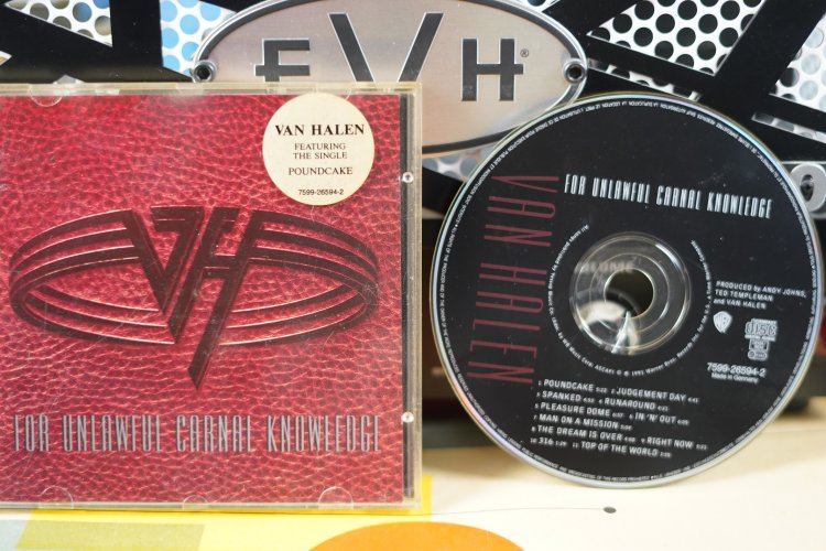 Van Halen  -  For Unlawful Carnal knowledge   7599265942   Made in Germany  1991