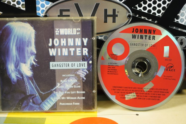Johnny Winter  -  Gangster of Love  0401362  Made in Holland 1992