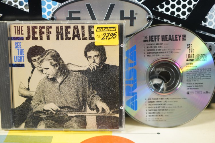 The Jeff Healey Band. -  See the Light. 259441  Made in the EC 1988