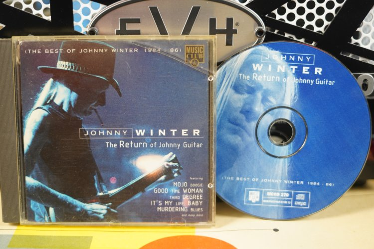 Johnny Winter   The Return of Johnny Guitar  (The Best of Johnny Winter 1984-1986)  MCCD 270  Made in the UK 1996