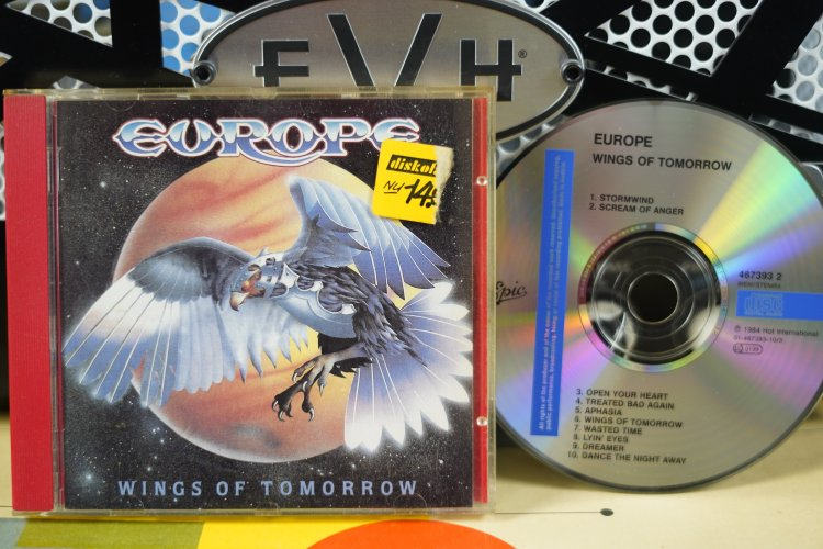 Europe     Wings of Tomorrow     4673932    Made in Austria 1984