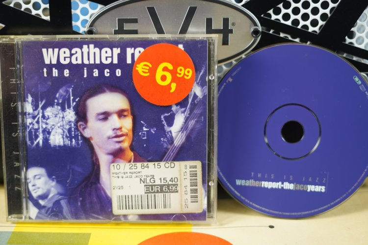 Weather Report  The Jaco Years   This is Jazz. CK 65451   Made in Columbia  1998