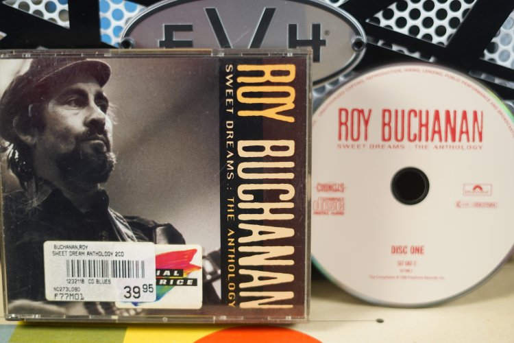 Roy Buchanan     Sweet Dreams: The Anthology   5170882    Made by PolyGram Records Inc. 1992