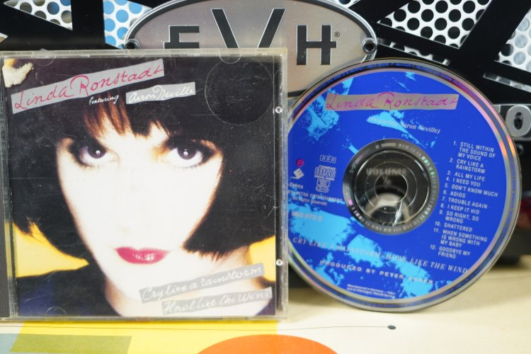 Linda Ronstadt   Cry like a Rainstorm   Howl like the Wind    9608722   Made in Germany 1989