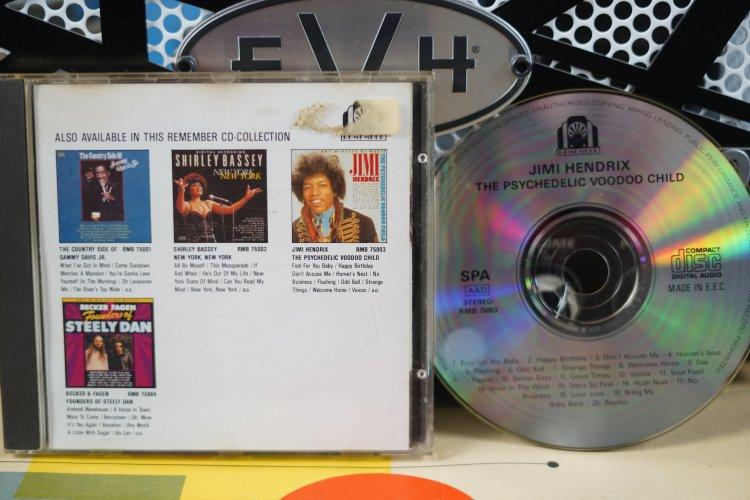 Jimi Hendrix    The Psychedelic Voodoo Child   RMB75003     Made in E.E.C. 1989