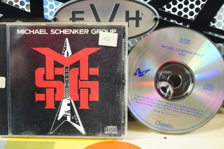 Michael Schenker Group    MSG.    F2 21336     Made in U.S.A. 1981