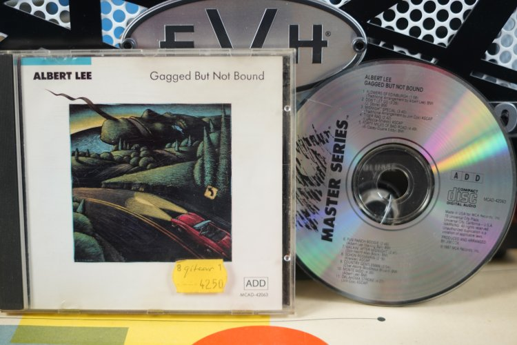 Albert Lee  Gagged But Not Bound     MCAD42063   Made in U.S.A. 1987