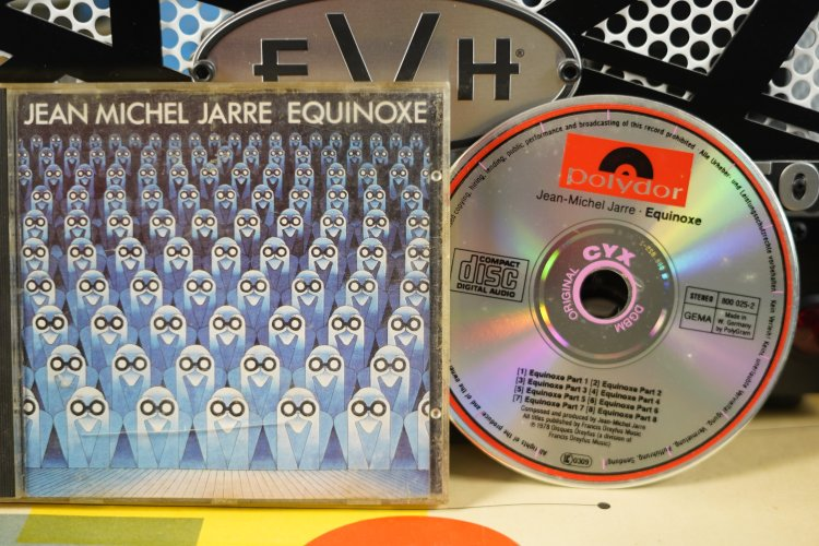 Jean Michel Jarre Equinoxe     800025-2     Made in West Germany 1978