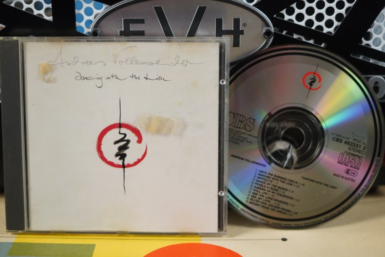 Andreas Vollenweider    Dancing with the Lion    CBS 4633312    Made in Austria 1989