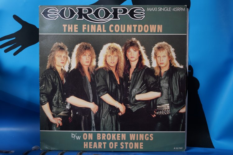 Europe  The Final Countdown CPC 127127