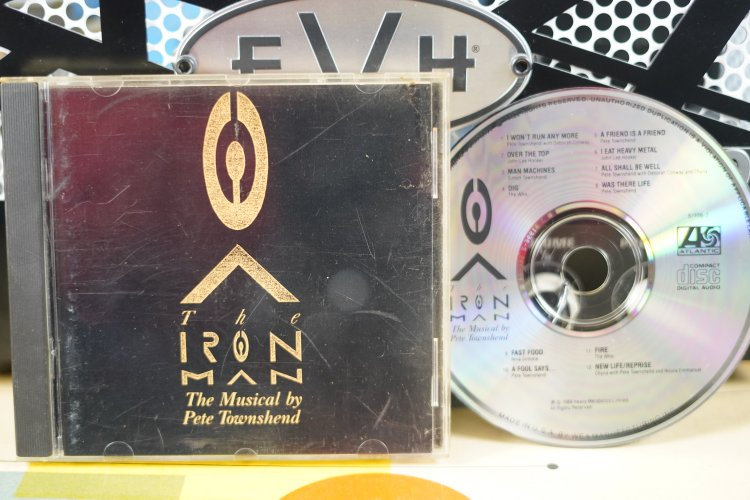 Iron Man - - The Musical by Pete Townshend   781996-2   Made in UK 1989