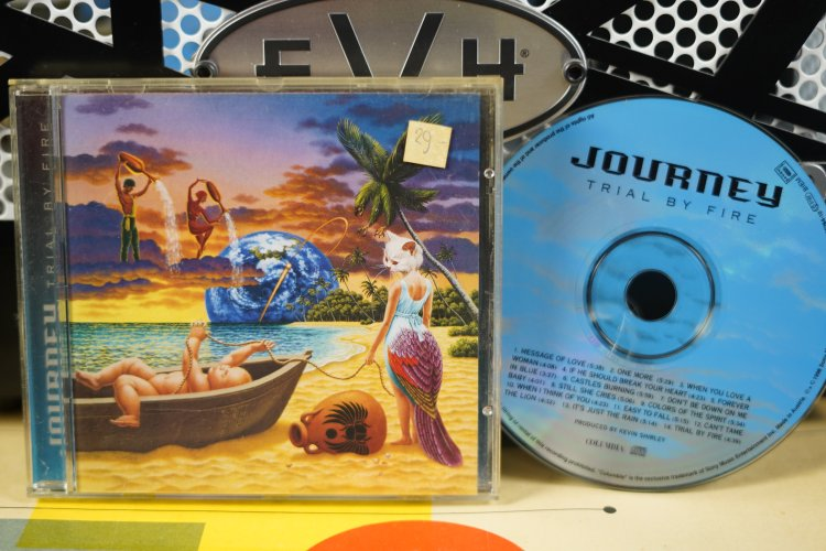 Journey  -  Trial by Fire   485264-2.  Made in Austria   1996