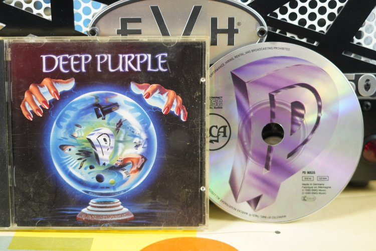 Deep Purple -  Slaves and Masters   PD90535   Made in Germany 1990