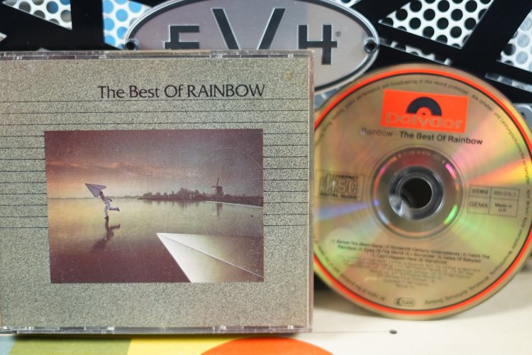 Rainbow  -  The Best of  Rainbow   800074-2   Made in UK  1981