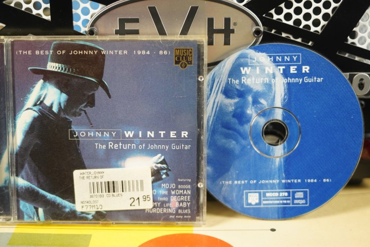 Johnny Winter  -  The Return of Johnny Guitar  (The Best of Johnny Winter 1984 - 1986)    MCCD270   Made UK 1996