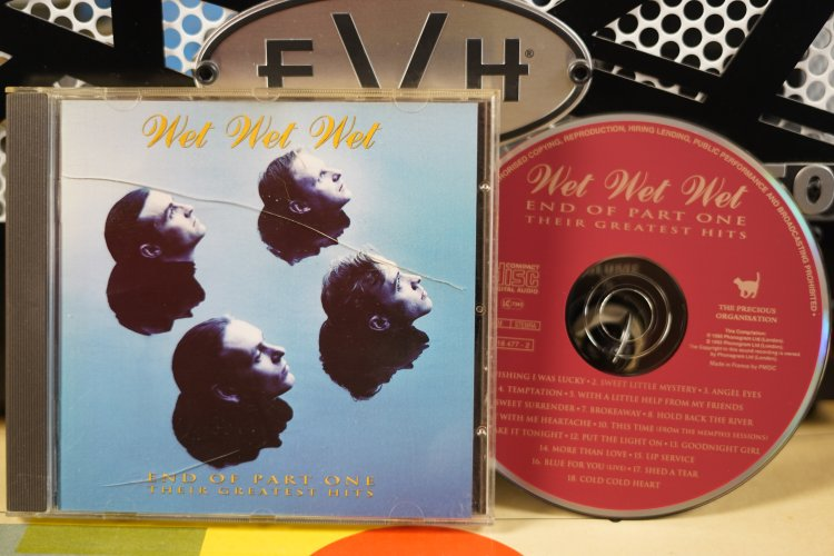 Wet Wet Wet  -  End of Part One Their Greatest Hits   51847-2   Mae in France 1993