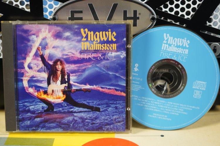 Yngwie Malmsteen  -  Fire & Ice   7559-61137-2  Made in Germany 1992